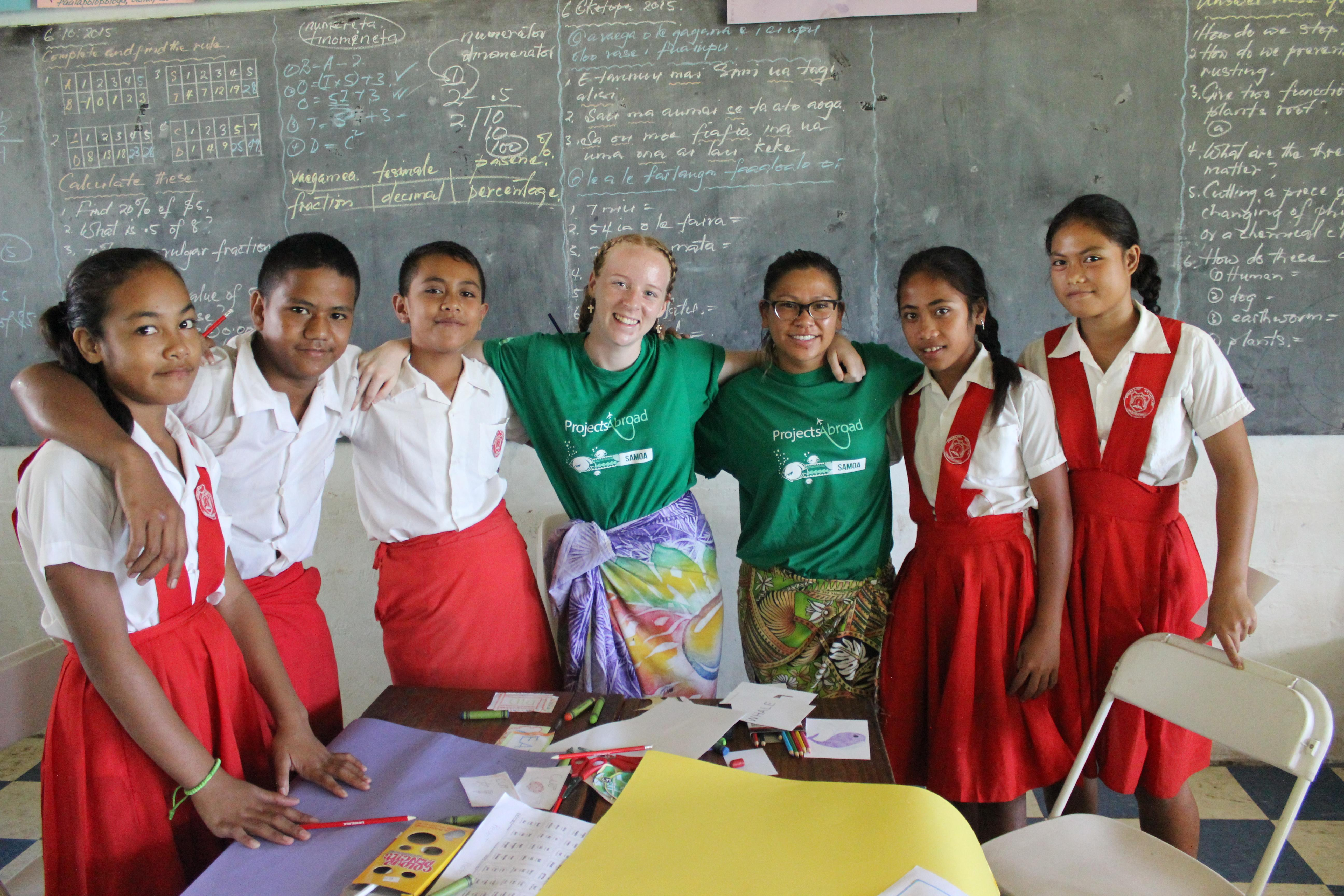 Volunteer Teaching in Samoa | Projects Abroad